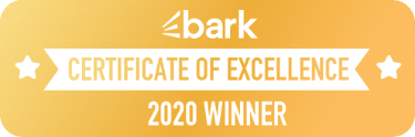 Bark - Certifcate of Excellence
